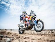 Rallying: Sunderland leads Dakar after moto stage shortened