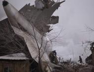 Kyrgyzstan says at least 20 dead in Bishkek plane crash