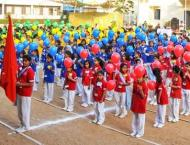 Festival of lights at Dawood Public School