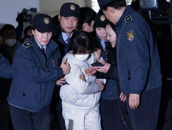 Daughter of S.Korea's 'Rasputin' arrested in Denmark