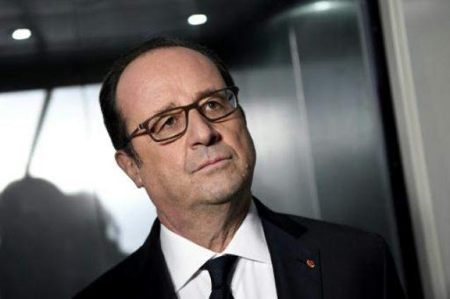 France's Hollande in Iraq to review war on IS: AFP