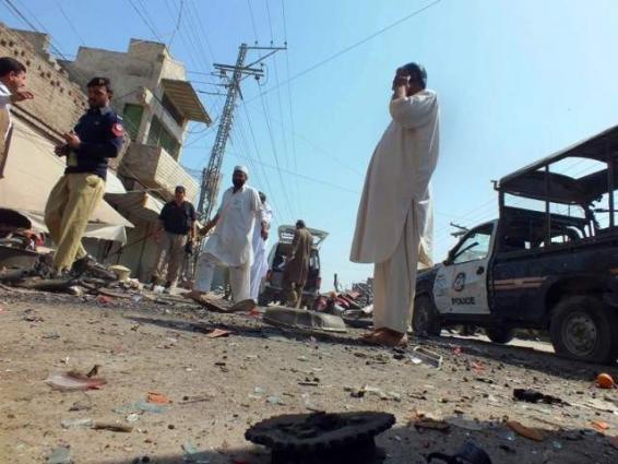Ten injured in Nasirabad landmine blast