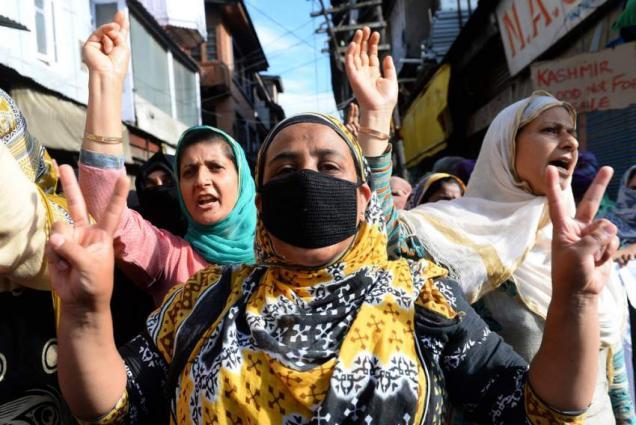 Sharp spike in crimes against women in IOK