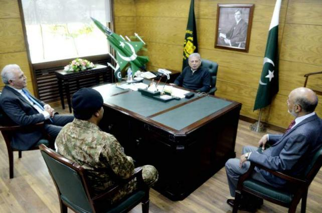 Newly appointed HIT chairman calls on Defence Production Minister