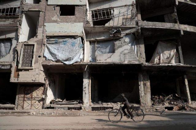 Syria army presses fight near Damascus despite truce