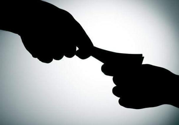Patwari held red handed for taking bribe