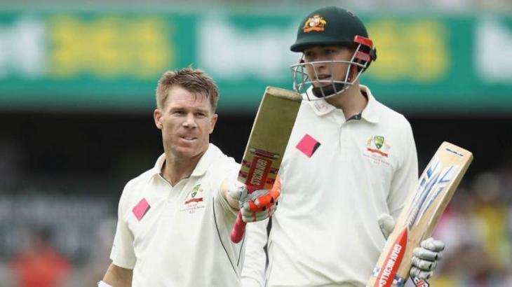 Cricket: Warner, Renshaw tons in Australia's 365-3