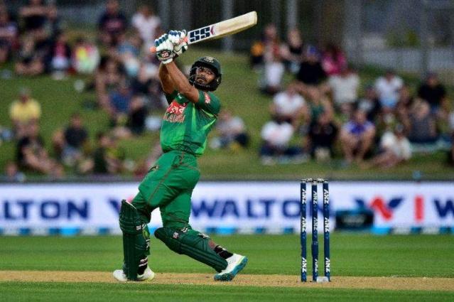Cricket: Mahmudullah's 52 guides Bangladesh to 141-8