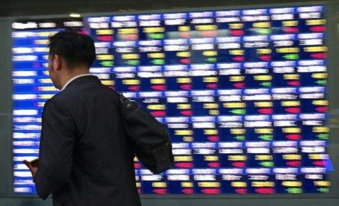 Asia markets up on first trading day of year