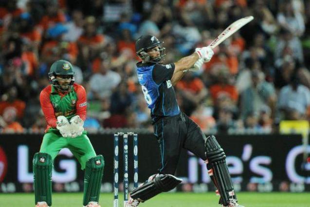 Cricket: New Zealand v Bangladesh scoreboard