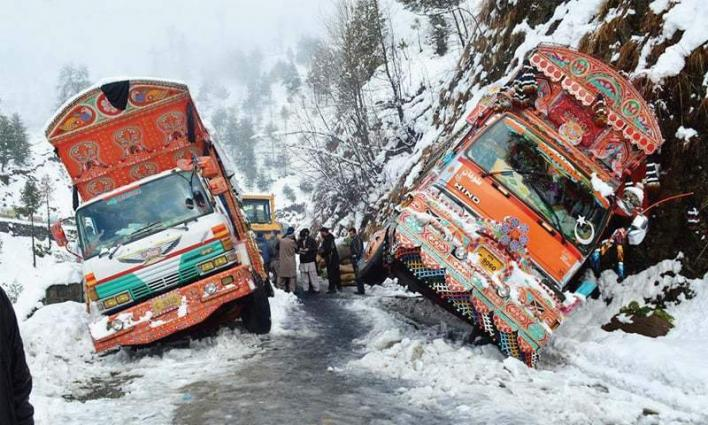 First snowfall, rain of winter season in Galyat and Kaghan