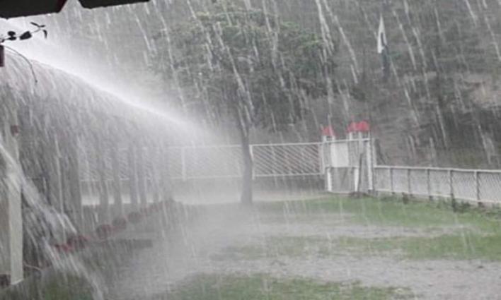 Rain in Sialkot district