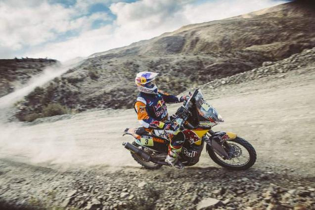 Rallying: Price takes control with Dakar second stage win