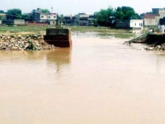 Rs 121.908 mln allocated for strengthening flood embankment