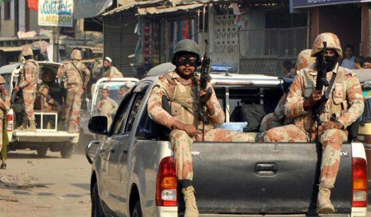 Two target killers arrested by Rangers