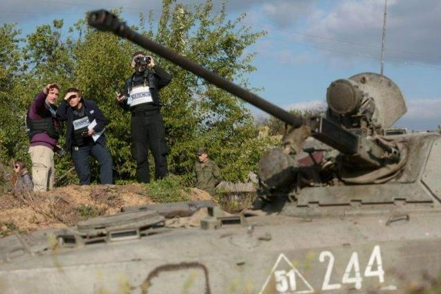 OSCE says displeased with 'status quo' in Ukraine conflict
