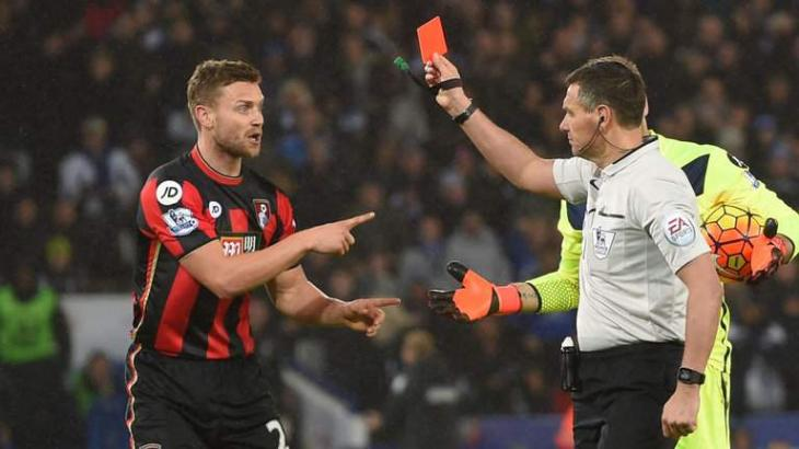 Football: Bournemouth appeal Francis red card