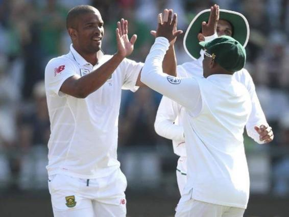 Philander strikes early for South Africa