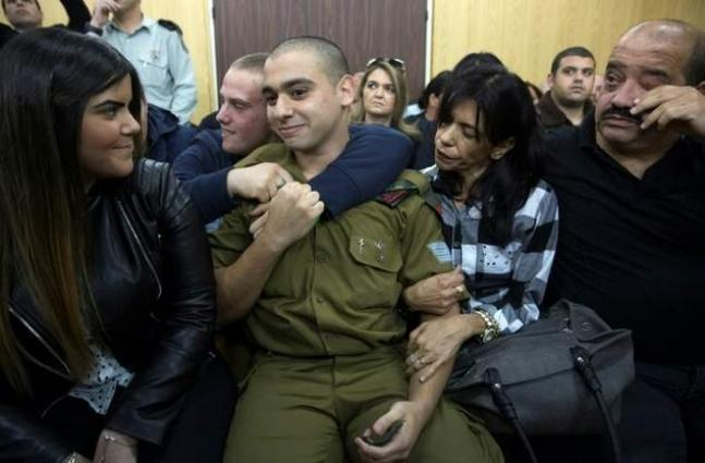 Israeli soldier who shot Palestinian should get life: father