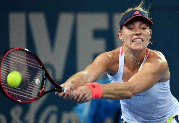 Tennis: Kerber, Cibulkova survive scares in Brisbane