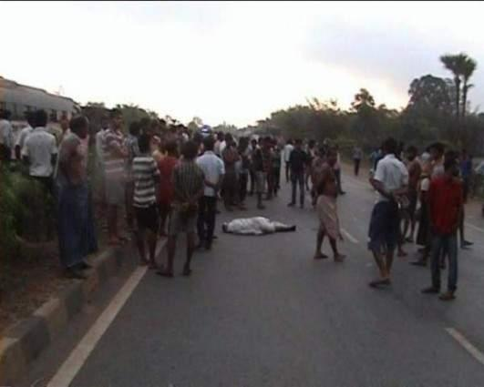 Two persons killed in separate incidents