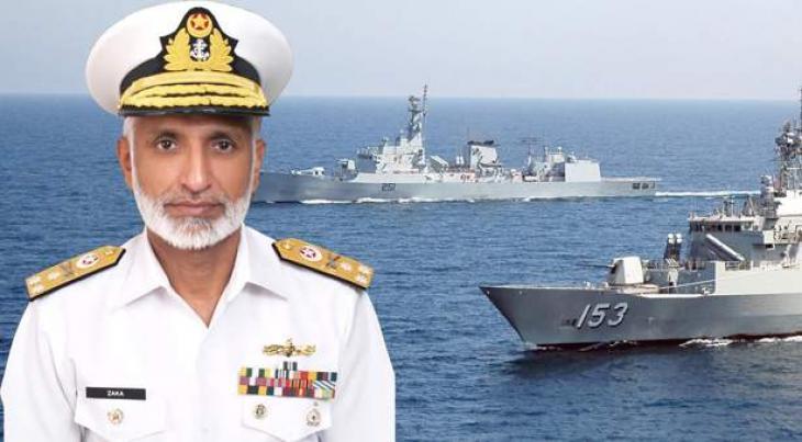 Efforts in hand to acquire modern warships: Admiral Zakaullah