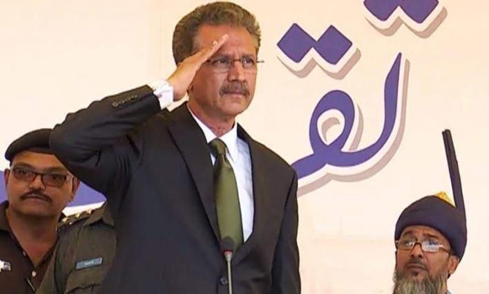 Mayor Karachi inspect Nehr-e-Khyam
