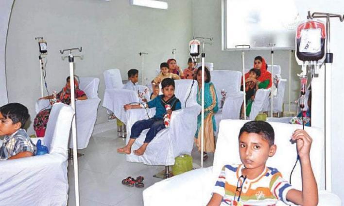 6000 babies born with Thalassemia major in Pakistan annullay: Dr. Salma Shaikh