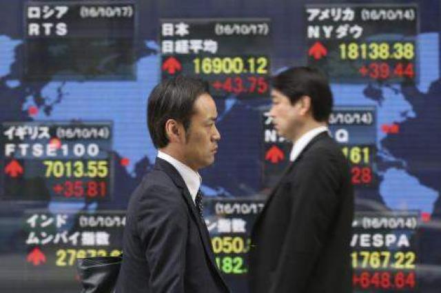Tokyo shares trade in narrow range