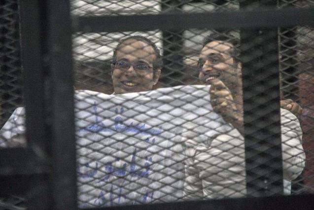 Egypt frees 2011 revolution figure Maher