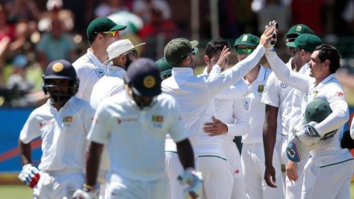 Cricket: South Africa beat Sri Lanka to win Test series