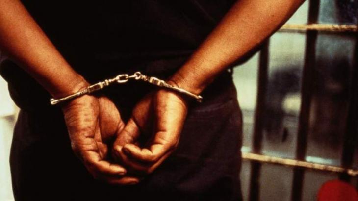 Proclaimed offender held