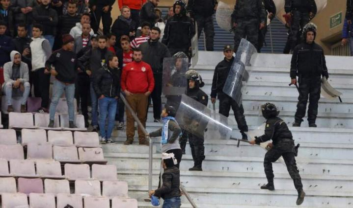 Football: Tunisian policeman injured during trouble at PSG friendly