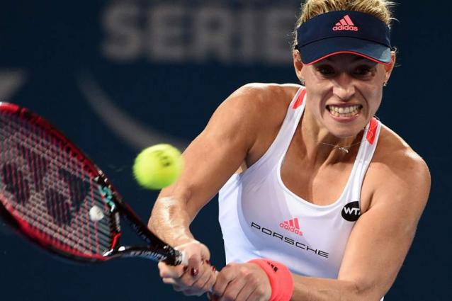 Tennis: Kerber, Cibulkova beaten in Brisbane boilovers