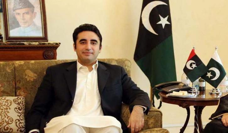Bilawal Bhutto visits free eye camp set up by PDF