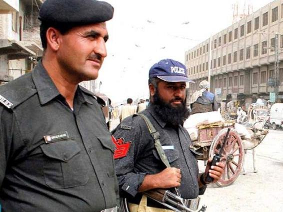 Two policemen booked