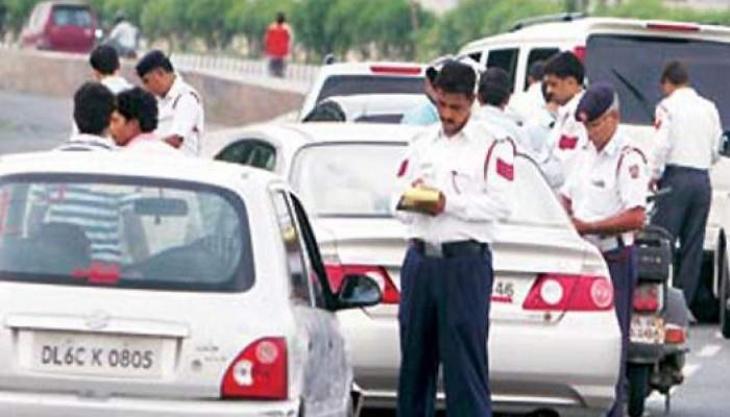 Three traffic policemen suspended