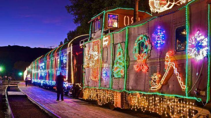Christmas train arrives at Faisalabad