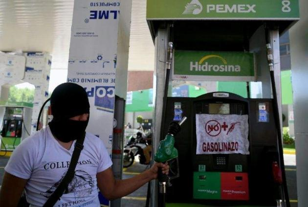 Mexico gas protests marred by looting, death