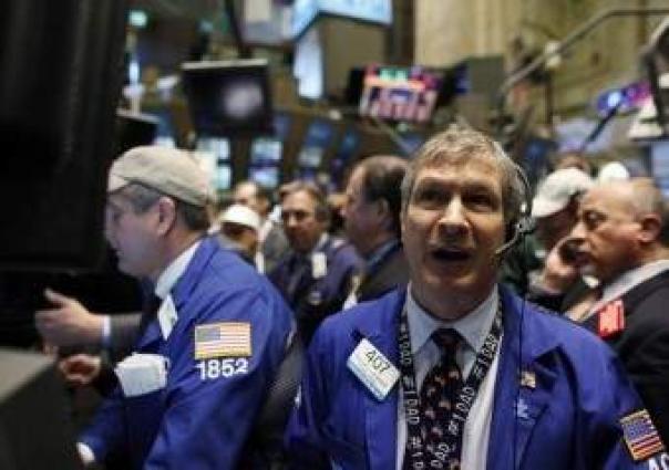US stocks mostly fall but Amazon surge lifts Nasdaq