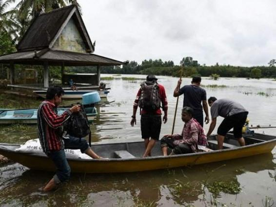 Six dead as floods spark chaos in Thai south