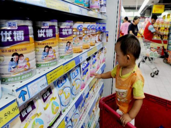 Import of milk, cream, food for infant increase 7.53% in five months