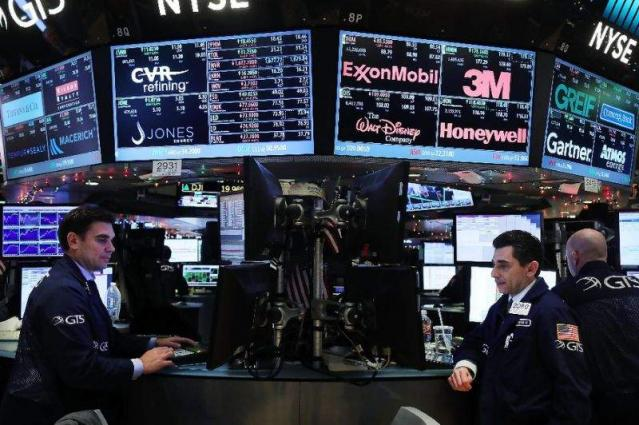 US stocks hit records as Dow flirts with 20,000 points