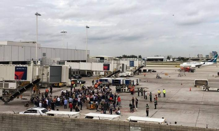 Five dead in Fort Lauderdale airport shooting