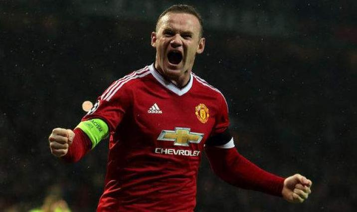 Football: Wayne Rooney equals Man Utd scoring record