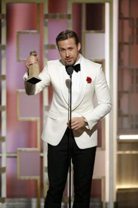 Gosling wins best comedy/musical actor for 'La La Land'