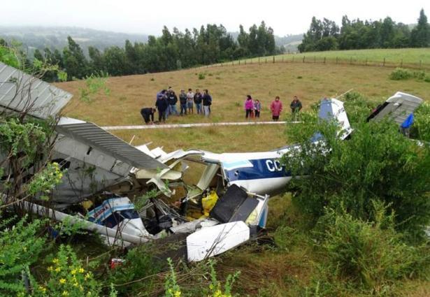 Four dead after Chile plane crash