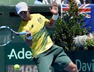 Tennis: Rookie Thompson's double in Australia's win
