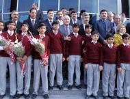 Prize distribution ceremony of Mathematics Olympiad held