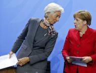 Merkel to meet IMF chief Lagarde in Berlin Wednesday